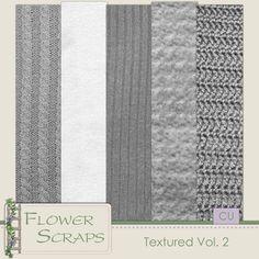 Textured Vol.2 - $2.39 : Digital Scrapbooking Studio