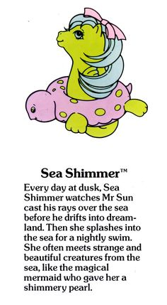 My Little Pony Sea Shimmer fact file ...