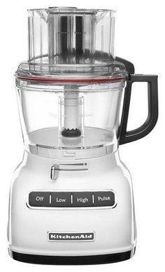 KitchenAid - 9-Cup Food Processor - White, KFP0933WH