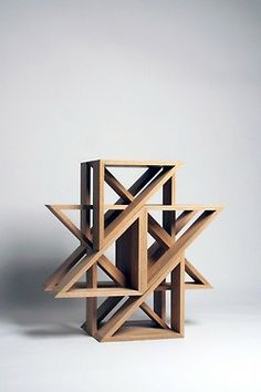 """M.STOOL, by J1 Studio     """"Seating arrangement composed of three triangular forms. Developed as a sculptural play block, the modular design can be arranged to various shapes."""""""