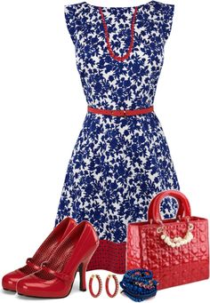 """""""OASIS Belted & Printed Dress 1"""" by michelle-hersh-wenger ❤ liked on Polyvore"""
