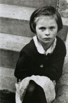 """""""Roger Mayne, Girl on the Steps, St. Stephen's Gardens, Westbourne Green, London, 1957 """""""