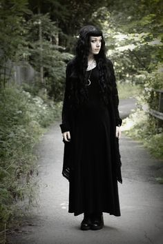 dark mori goth witch