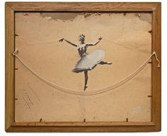 'Ballerina' by Banksy