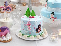 как украсить новогодний торт фото | Фотоархив