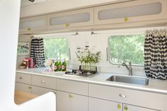 Airstream Interior | The Silver Bungalow