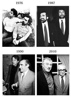 Years pass by, friends. | Robert De Niro | Martin Scorsese