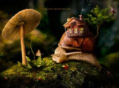 snail house by Lubov2001 on DeviantArt