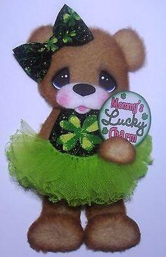ELITE4U Tear Bear Girl Tutu Paper Piecing Premade Scrapbook Card Album | eBay