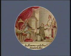 French Revolution Digital Archive: Les Femmes et le pres.t devant le Roi [estampe]