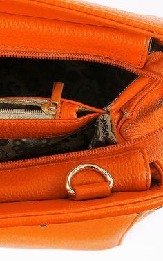 Structured Leatherette Bag   MakeMeChic.com