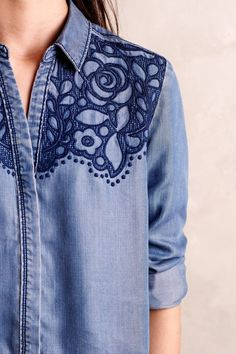 Lucie Chambray Buttondown                                                                                                                                                      Más