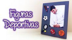 Figuras deportivas de filigrana, Quilling sports figures Diy Paper, Frame, Youtube, Quilling, Paper Envelopes, Sports, Manualidades, Picture Frame, Frames