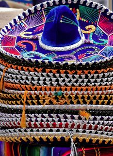 Could make polymer sombrero magnets & paint like this as wedding favors