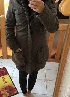 Kaufe meinen Artikel bei #Kleiderkreisel http://www.kleiderkreisel.de/damenmode/mantel/135139986-langer-winterparka-kaki