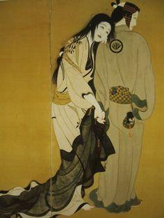 Kitano Tsunetomi(1880〜1947)  「道行」