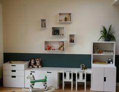Stuva Ikea: ideaal voor een opgeruimde speelhoek voor de kinderen.