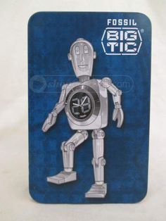 shopgoodwill.com: 020 Fossil Big Tic Robot - Boxed