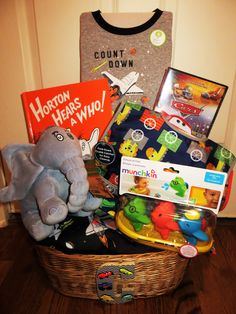 Babys 1st Birthday Gift Basket Celebrate The Milestone With A Growing Tyke Will