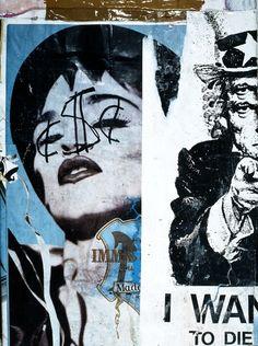 Jacques Villeglé, Bleecker Street (New York), janvier 1991 Graffiti Artwork, Cool Artwork, Collage Art, Art Collages, Happy Together, Street Art Graffiti, Graphic Design Art, New York, Painting Inspiration