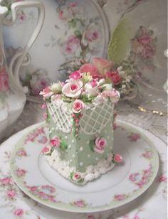 English garden tea cake