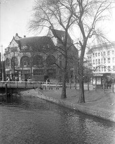 1936,Het station Hofplein gezien vanaf de Delftse Poort