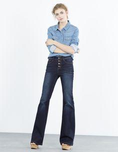 Jeans Bootcut skinny | Blanco