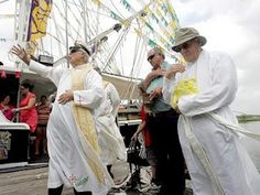 Blessing of the Shrimp Fleet 2012 In Diocese of Houma-Thibodaux Louisiana<3