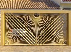 ... Front Door Design Wood, Front Gate Design, Main Gate Design, House Gate Design, Door Gate Design, Balcony Grill Design, Balcony Railing Design, Window Grill Design, Metal Garage Doors