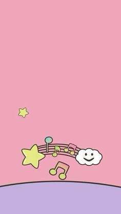 Cute Music Wallpaper. #kawaii