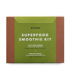 Just ordered this, and super excited about it :) I've been wanting to try it for so long! Organic, natural goodness with no fake, terrible for you stuff like artificial sweeteners. And if you use the code JENNA125 at checkout you'll get $20 off! https://aloha.com/try?invitecode=JENNA125