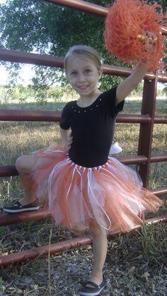 Tutu with ribbon steamer accents Little Girl Dress Up, Girls Dress Up, Flower Girl Dresses, Longhorns, Steamer, Girly Girl, Tutu, Cheer, University