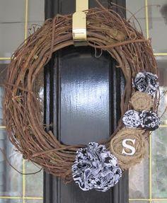 DIY On the Cheap: A Wreath for Any Season