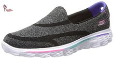 Skechers Youths Go Walk 2 - Super Sock Black Textile Trainers 37 EU - Chaussures skechers (*Partner-Link)