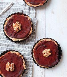 Schokoladige Walnuss-Tartelettes