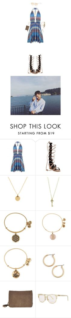 """Find Me in Paradise"" by psannahia ❤ liked on Polyvore featuring Jeffrey Campbell, Tiffany & Co., Alex and Ani, Nordstrom, Tory Burch, Victoria Beckham and Topshop"