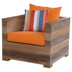 I pinned this Sedona Teak Club Chair from the Mangrove Imports event at Joss and Main!