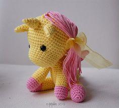 Amigurumi Pattern - Peachy Rose the Unicorn