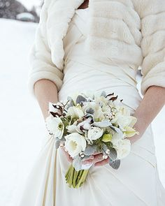 Winter-White Bouquet