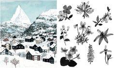 Illustrationsinspiration: Becca Stadtlander.