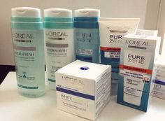 L 'OREAL PRODUCTS | OREAL Skincare Products Loreal, Shampoo, Skincare, Personal Care, Pure Products, Bottle, Self Care, Skincare Routine, Personal Hygiene