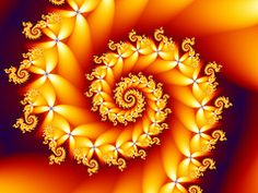 Fractals!  Beautiful, mathmatical art. something to do with graphic display of numbers within numbers............. too techy for me - you'll have to look it up!