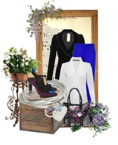 """""""Fun With Blue and Purple"""" by desert-diva on Polyvore"""