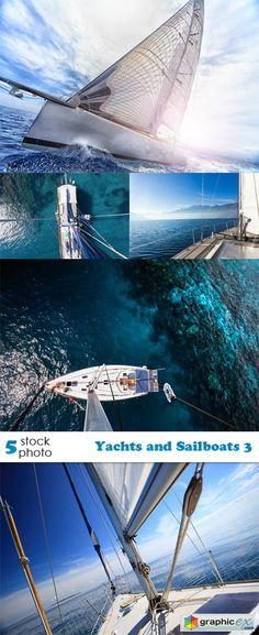 Yachts and Sailboats 3  stock images