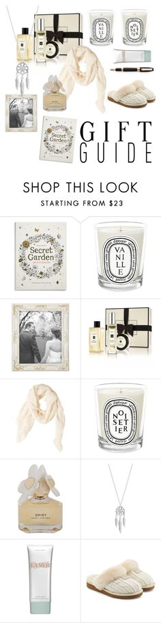 """""""contest; mothers day gifts"""" by anna-bodman ❤ liked on Polyvore featuring Chronicle Books, Diptyque, Jo Malone, MANGO, Marc by Marc Jacobs, Lucky Brand, La Mer, UGG Australia, Montegrappa and mothersdaygiftguide"""