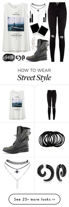 """street style"" by aoihikarianna on Polyvore featuring Uniqlo, Wet Seal, Bling Jewelry, H&M and Lord & Berry"