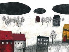 littlechien via cdeiijkkorr3  someforeignletters:    Leire Salaberria: Cuando llueve