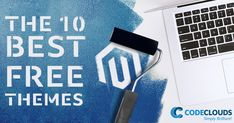 Looking for a good free magento theme to put on your client's project? These 10 free magento themes are the best options for aspiring #Magentodevelopers. #MagentoThemes #CodeClouds