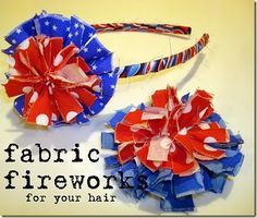 Fabric Bows and More: 4th of July....lots of tutorials