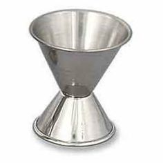 1 1/2 x 2 oz Stainless Steel Double Jigger by American Metalcraft. $2.30. Jigger 1 1/2 x 2 oz. Satin finish Rolled edge Stainless steel
